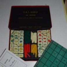 Jogos educativos: (M) JUEGO AÑOS 40 DE TAI-HOU , JEU CHINOIS , COMPLETO !!!! , SEÑALES DE USO. Lote 77792729