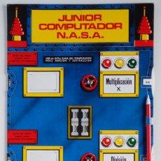 Juegos educativos: JUNIOR COMPUTADOR N.A.S.A. – ANTIGUO JUGUETE CALCULADORA. Lote 78423657
