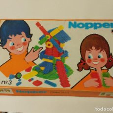 Juegos educativos: NOPPER -JUEGO DE MONTAJE - CAJA Nº 3 - EDAD 2 A 12 AÑOS. ORIGINAL AÑO- 1971. Lote 78677593