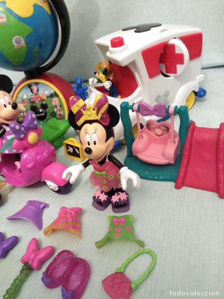 Juegos educativos: Lote de muñeco MICKEY MOUSE con globo terraqueo y un monton de piezas. - Foto 4 - 79125953