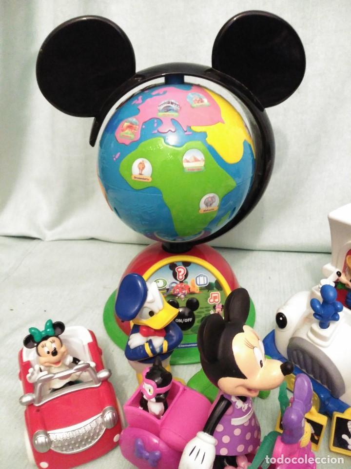Juegos educativos: Lote de muñeco MICKEY MOUSE con globo terraqueo y un monton de piezas. - Foto 5 - 79125953