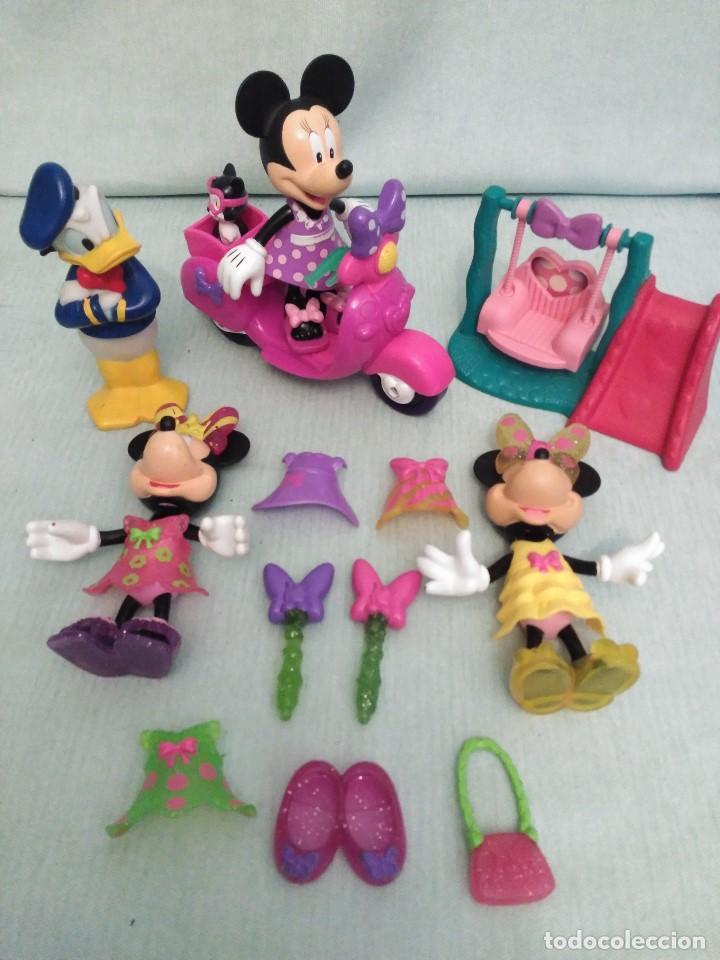 Juegos educativos: Lote de muñeco MICKEY MOUSE con globo terraqueo y un monton de piezas. - Foto 6 - 79125953