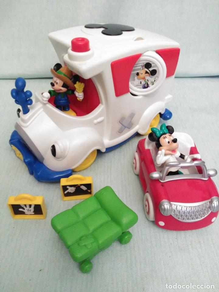 Juegos educativos: Lote de muñeco MICKEY MOUSE con globo terraqueo y un monton de piezas. - Foto 8 - 79125953