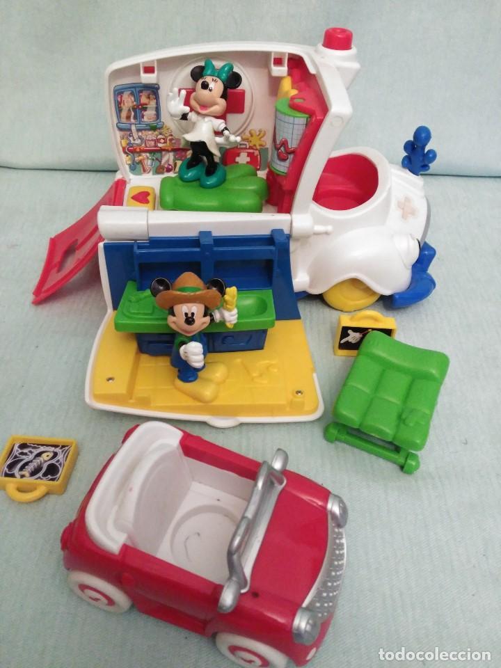 Juegos educativos: Lote de muñeco MICKEY MOUSE con globo terraqueo y un monton de piezas. - Foto 10 - 79125953