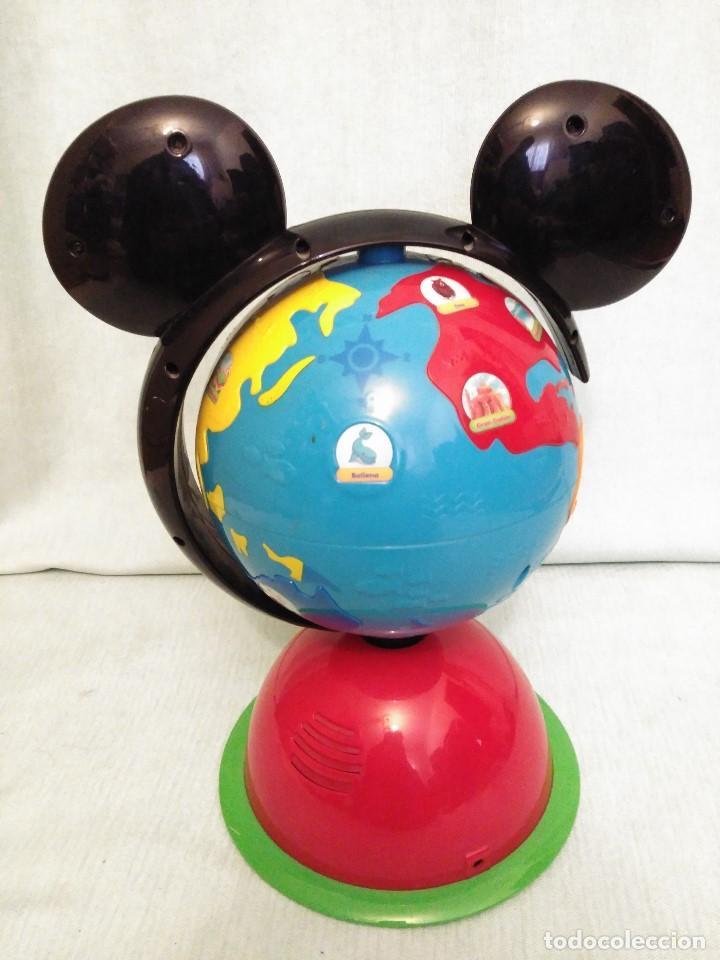 Juegos educativos: Lote de muñeco MICKEY MOUSE con globo terraqueo y un monton de piezas. - Foto 11 - 79125953