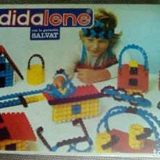Juegos educativos: JUEGO CONSTRUCCIÓN COMPLETO DIDALENE 20 AÑO 1972. Lote 79231941