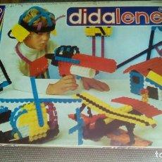 Juegos educativos: JUEGO DE CONSTRUCCIÓN DIDALENE 30 COMPLETO AÑO 1972. Lote 79233013
