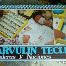 Juegos educativos: JUEGO PARVULIN TECLEO BANDERAS Y NACIONES AÑOS 80. Lote 79235197