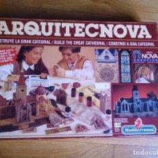 Juegos educativos: ARQUITECNOVA SERIE NOVA DE MEDITERRANEO AÑOS 90. Lote 79801225