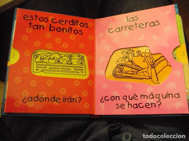 Juegos educativos: mi primer libro magico: tractores - Foto 2 - 57818963