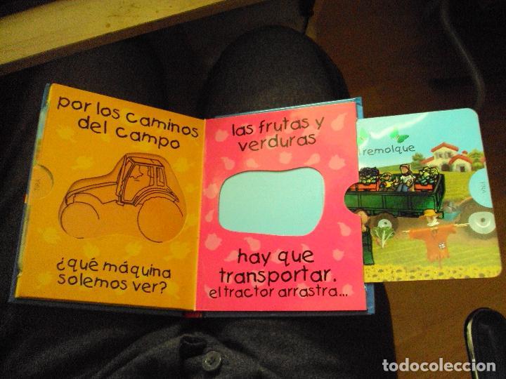 Juegos educativos: mi primer libro magico: tractores - Foto 4 - 57818963