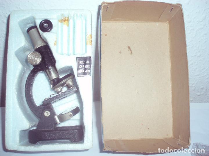 Juegos educativos: RESEARCH MICROSCOPE JUNIOR pequeño microscopio - Foto 2 - 81659464