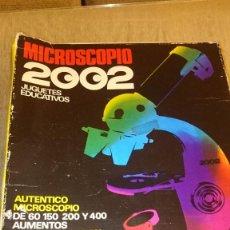 Juegos educativos: MICROSCOPIO 2002 EN SU CAJA. AÑOS 70. Lote 81971840