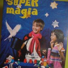 Juegos educativos: JUEGO SUPER MAGIA HANKY PANKY 85 MADE IN ISLAS CANARIAS SUPERMAGIA . Lote 82059668
