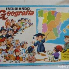 Juegos educativos: ESTUDIANDO GEOGRAFIA - PSE. Lote 82847616