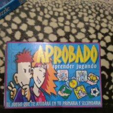 Juegos educativos: JUEGO APROBADO. Lote 83756854