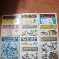 Juegos educativos: ACTIVIDADES MANUALES SALVATELLA 10 NÚMEROS . Lote 83884558