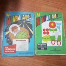 Juegos educativos: MANUALIDADES EN PAPEL SALVATELLA . Lote 83884690