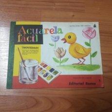 Juegos educativos: ACUARELA FACIL N1 ROMAN. Lote 100045492