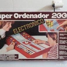 Juegos educativos: SUPER ORDENADOR 2002 ELECTRONICO. Lote 84874328