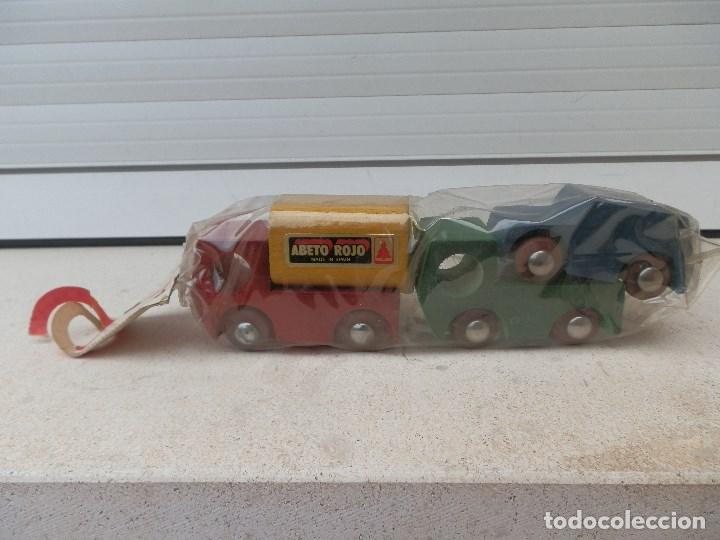 En Coche Con Y MaderaM Camion Blister Vendido Antiguo Venta NnkXOPwZ80