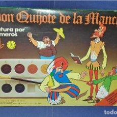 Juegos educativos: PINTA POR NÚMEROS - DON QUIJOTE DE LA MANCHA - POCH - 1979 - COMPLETAMENTE NUEVO. Lote 85883720