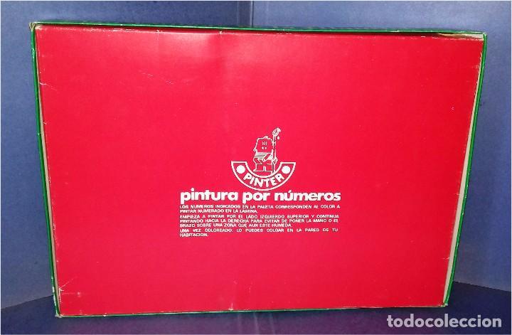 Juegos educativos: PINTA POR NÚMEROS - DON QUIJOTE DE LA MANCHA - POCH - 1979 - COMPLETAMENTE NUEVO - Foto 4 - 85883720