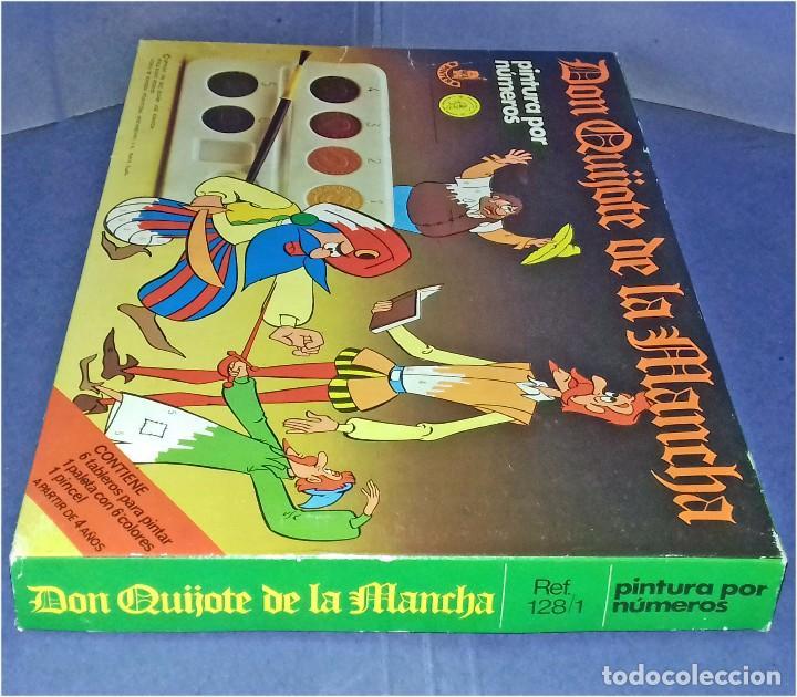 Juegos educativos: PINTA POR NÚMEROS - DON QUIJOTE DE LA MANCHA - POCH - 1979 - COMPLETAMENTE NUEVO - Foto 5 - 85883720