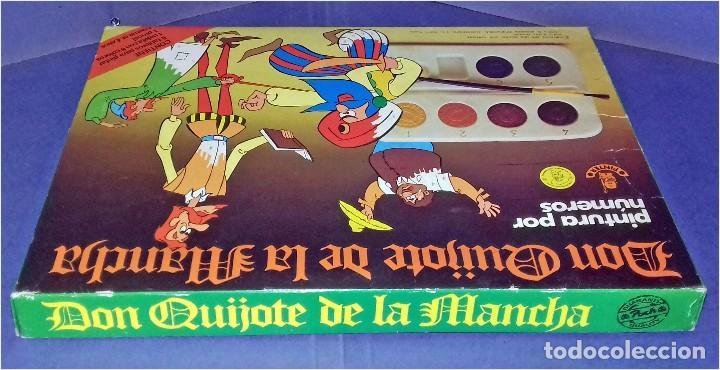 Juegos educativos: PINTA POR NÚMEROS - DON QUIJOTE DE LA MANCHA - POCH - 1979 - COMPLETAMENTE NUEVO - Foto 6 - 85883720