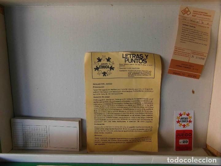 Juegos educativos: Juego Letras y Puntos. Juegos Educa. Referencia 4750 - Foto 3 - 86014824