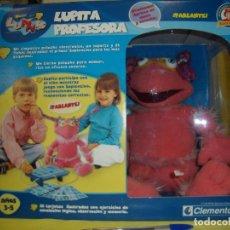 Juegos educativos: LUPITA PROFESORA LUNNIS DE CLEMENTONI, AÑO 2004, NUEVO.. Lote 86102440