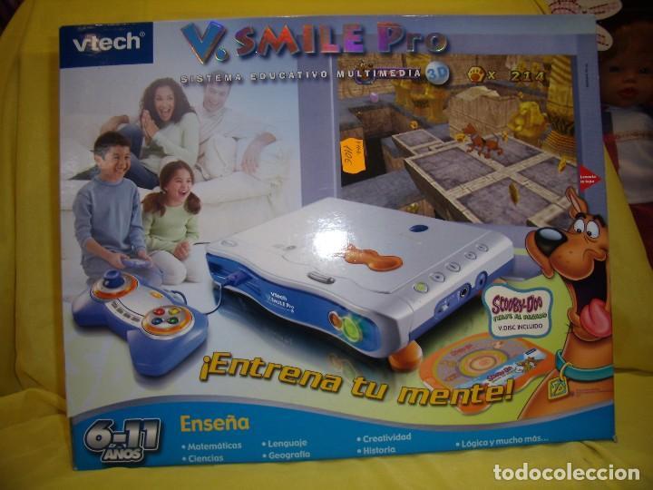 Consola V. Smile Pro de Vtech con juego Scooby Doo, Nuevo. segunda mano