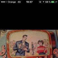 Juegos educativos: JUEGO LO TOMAS O LO DEJAS BORRAS AÑOS 30. Lote 86241558