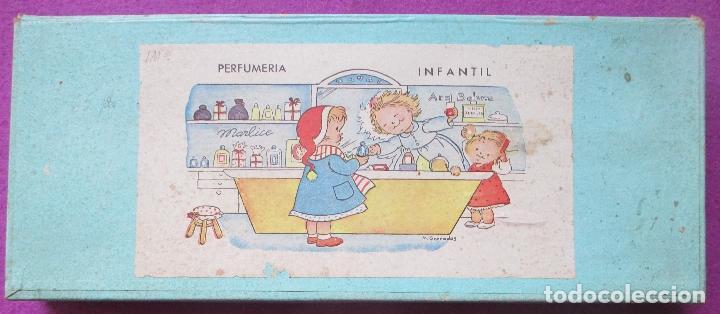 PERFUMERIA INFANTIL, CAJA ORIGINAL, M. GRANADOS, AÑOS 50, (Juguetes - Juegos - Educativos)
