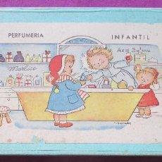 Juegos educativos: PERFUMERIA INFANTIL, CAJA ORIGINAL, M. GRANADOS, AÑOS 50,. Lote 86284756