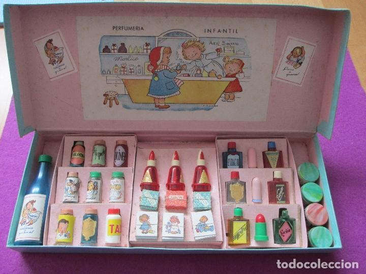Juegos educativos: PERFUMERIA INFANTIL, CAJA ORIGINAL, M. GRANADOS, AÑOS 50, - Foto 2 - 86284756