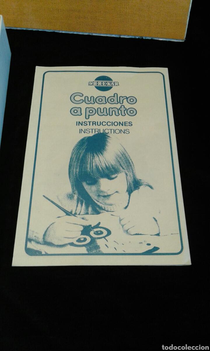 Juegos educativos: Cuadro a punto búho de Brekar (años 80) - Foto 5 - 87092400