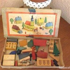 Juegos educativos: JUGO DE CONSTRUCCIÓN EN MADERA. Lote 87213428