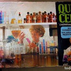 Juegos educativos: ANTIGUO JUEGO DE MESA, EDUCATIVO, QUIMI CEFA, QUIMICEFA 5, LABORATORIO EXPERIMENTAL, 1960S. Lote 88499608