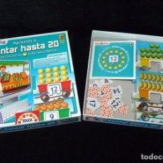 Juegos educativos: APRENDO A CONTAR HASTA 20. JUEGO EDUCATIVO+JUEGO MULTIMEDIA. 3-4 AÑOS. EDUCA REF.14245. AÑO 2009. Lote 88785988