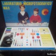 Juegos educativos: LABORATORIO MICROFOTOGRAFICO MAX. Lote 89695388