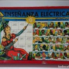 Juegos educativos: ANTIGUO JUEGO ENSEÑANZA ELÉCTRICA,DE JUGUETES INSTRUCTIVOS JM.. Lote 89862056