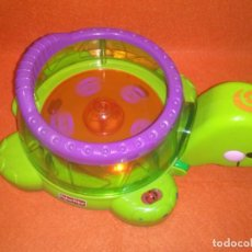Juegos educativos: TORTUGA GIRATORIA,,MUSICAL,,LUCES. FHISER PRICE. Lote 90222864