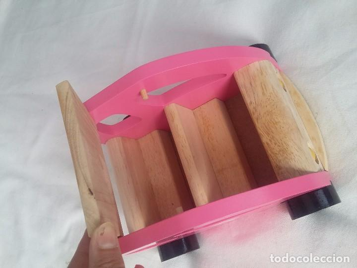 Juegos educativos: Coche de madera especial para niños pequeños - Foto 2 - 90770785