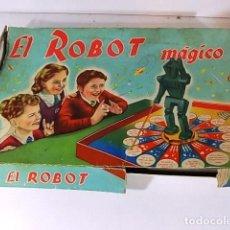 Juegos educativos: ANTIGUO JUEGO DE MESA EL ROBOT MÁGICO DE LA MARCA CEFA. Lote 91346040