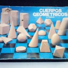 Juegos educativos: ANTIGUO JUEGO, CUERPOS GEOMETRICOS, DE DALMAU. 10 PIEZAS. MUY DIFICIL. Lote 92848710