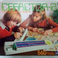 Juegos educativos: ANTIGUI JUEGO, CEFACTOR-2, DE CEFA. Lote 93112949