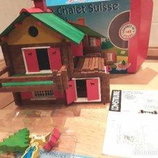 Juegos educativos: JEUJURA LE CHALET SUISSE, COMPLETO.. Lote 94079350