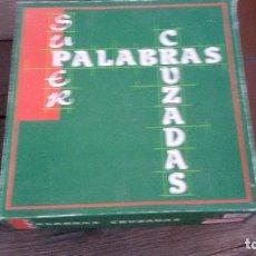 Juegos educativos: PALABRAS CRUZADAS. Lote 94340730