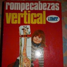 Juegos educativos: ROMPECABEZAS VERTICAL, SEIS DADOS GIGANTES. Lote 95165819